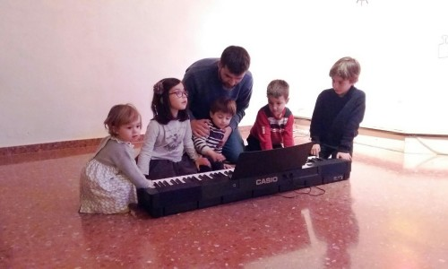 Xarxa d'Escoles: Jardí Musical Espai Llimera