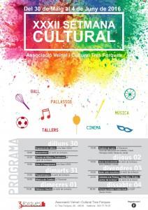 Setmana Cultural Tres Forques 2016