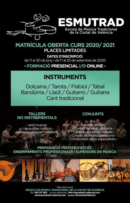 CARTELL_ESMUTRAD_MATRICULA_2020-2021